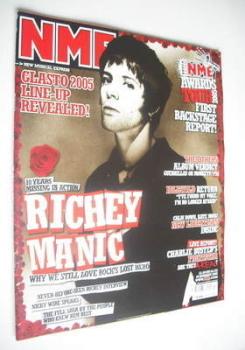 NME magazine - Richey Edwards cover (29 January 2005)