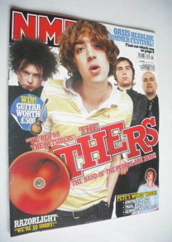 NME magazine - The Others cover (12 February 2005)