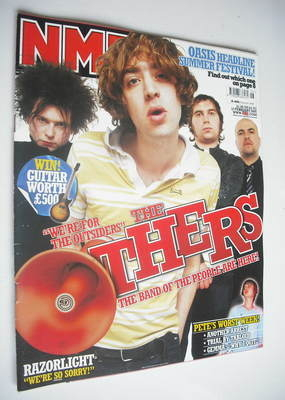 <!--2005-02-12-->NME magazine - The Others cover (12 February 2005)