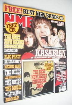 NME magazine - Kasabian cover (2 April 2005)