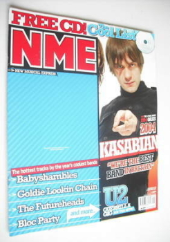NME magazine - Kasabian cover (4 December 2004)