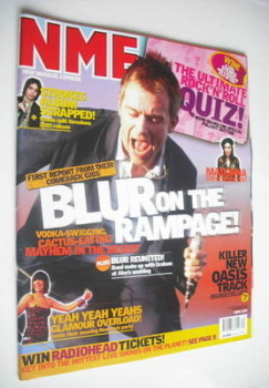 NME magazine - Blur cover (17 May 2003)