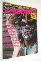 <!--1982-11-04-->Kerrang magazine - Fish cover (4-17 November 1982 - Issue 28)