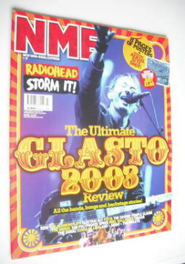 <!--2003-07-05-->NME magazine - The Ultimate Glastonbury 2003 Review (5 Jul