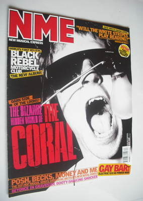 <!--2003-07-26-->NME magazine - The Coral cover (26 July 2003)