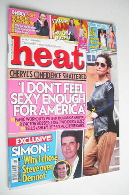 <!--2011-05-21-->Heat magazine - Cheryl Cole cover (21-27 May 2011)