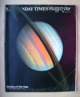 <!--1980-12-14-->The Sunday Times magazine - Saturn cover (14 December 1980