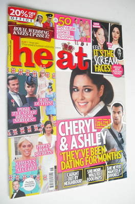 <!--2011-05-07-->Heat magazine - Cheryl Cole cover (7-13 May 2011)