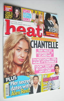 <!--2011-04-30-->Heat magazine - Chantelle Houghton cover (30 April - 6 May