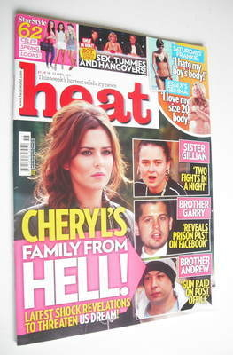<!--2011-04-16-->Heat magazine - Cheryl Cole cover (16-22 April 2011)