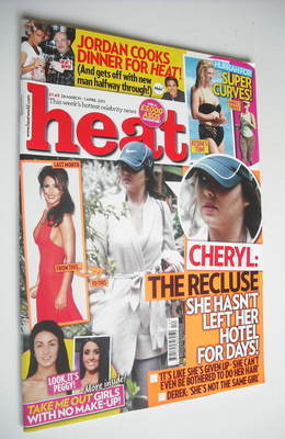 <!--2011-03-26-->Heat magazine - Cheryl Cole cover (26 March - 1 April 2011