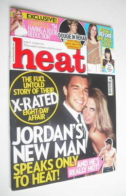 <!--2011-03-12-->Heat magazine - Jordan cover (12-18 March 2011)