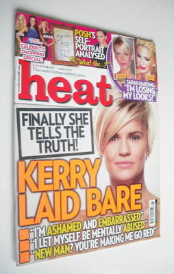 <!--2011-02-26-->Heat magazine - Kerry Katona cover (26 February - 4 March