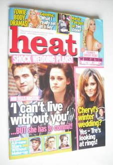 <!--2012-09-29-->Heat magazine - Wedding Plans cover (29 September - 5 Octo