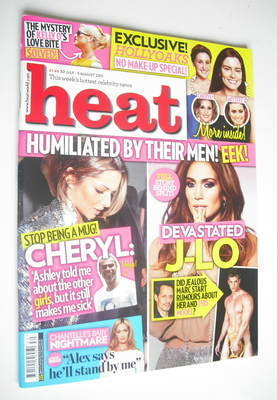 <!--2011-07-30-->Heat magazine - Humiliated By Their Men cover (30 July - 5
