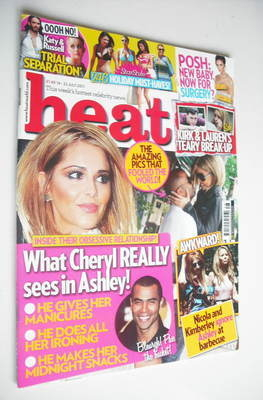 <!--2011-07-16-->Heat magazine - Cheryl Cole cover (16-22 July 2011)