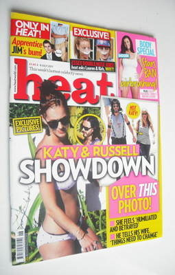 <!--2011-07-02-->Heat magazine - Katy Perry cover (2-8 July 2011)