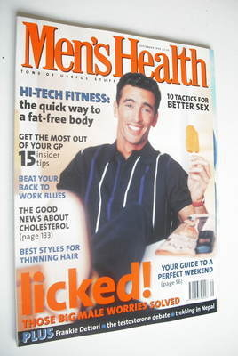 <!--1996-09-->British Men's Health magazine - September 1996