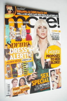 More magazine - Lady Gaga cover (5 March 2012)