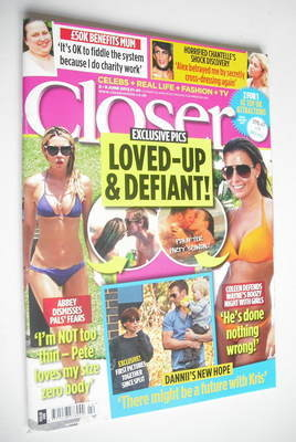 <!--2012-06-02-->Closer magazine - Loved-Up cover (2-8 June 2012)
