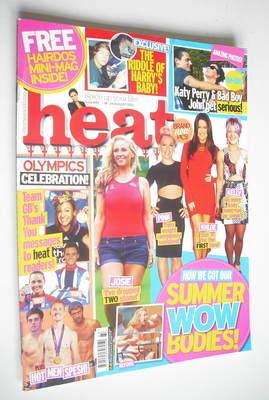<!--2012-08-18-->Heat magazine - Summer Bodies cover (18-24 August 2012)