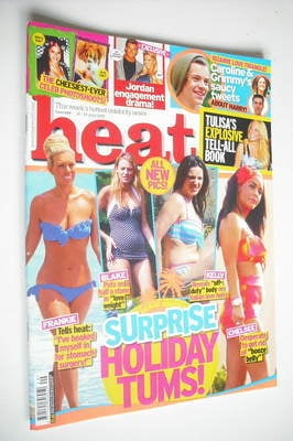 <!--2012-07-21-->Heat magazine - Surprise Holiday Tums cover (21-27 July 20