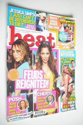 <!--2012-07-07-->Heat magazine - Feuds Reignited cover (7-13 July 2012)