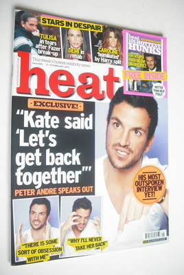 <!--2012-02-04-->Heat magazine - Peter Andre cover (4-10 February 2012)
