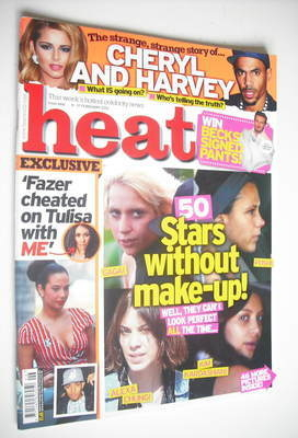 <!--2012-02-11-->Heat magazine - Stars Without Make-up cover (11-17 Februar