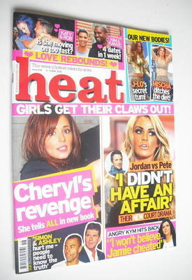 <!--2012-05-05-->Heat magazine - Cheryl Cole and Jordan cover (5-11 May 201