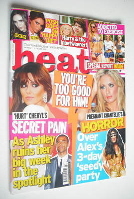 <!--2012-06-02-->Heat magazine - You're Too Good For Him cover (2-8 June 20