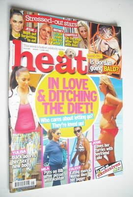 <!--2012-05-26-->Heat magazine - Loved Up cover (26 May - 1 June 2012)