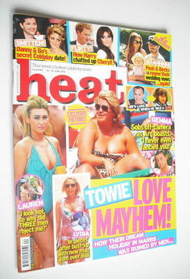 <!--2012-06-16-->Heat magazine - Towie Love Mayhem cover (16-22 June 2012)