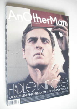 <!--2005-09-->Another Man magazine - Autumn/Winter 2005 - Joaquin Phoenix cover