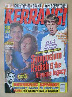 <!--1997-08-09-->Kerrang magazine - 9 August 1997 (Issue 660)