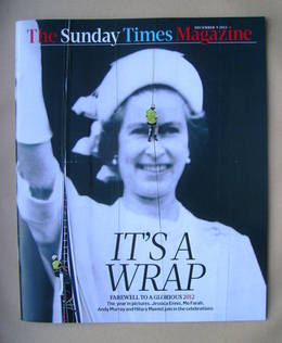 <!--2012-12-09-->The Sunday Times magazine - The Queen cover (9 December 20