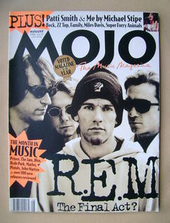 <!--1996-08-->MOJO magazine - R.E.M. cover (August 1996 - Issue 33)