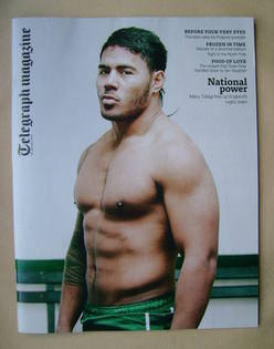 <!--2013-01-26-->Telegraph magazine - Manu Tuilagi cover (26 January 2013)