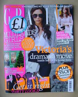 <!--2012-12-10-->Grazia magazine - Victoria Beckham cover (10 December 2012