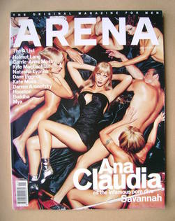 Arena magazine - January 2001 - Ana Claudia cover