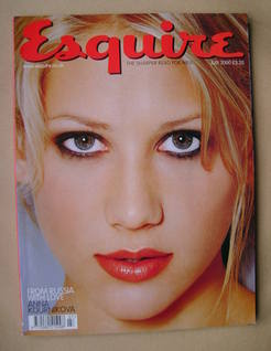 <!--2000-07-->Esquire magazine - Anna Kournikova cover (July 2000)