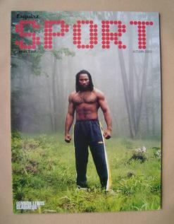 Esquire Sport magazine - Lennox Lewis cover (Autumn 2000)