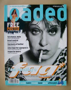 Loaded magazine - Kathy Burke cover (October 1997)