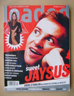 <!--1996-10-->Loaded magazine - Ardal O'Hanlon cover (October 1996)