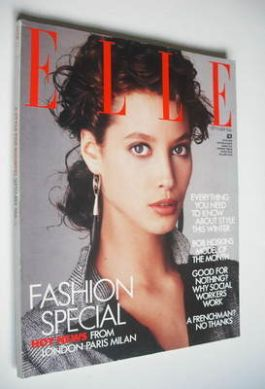 <!--1986-09-->British Elle magazine - September 1986 - Christy Turlington c