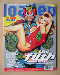 Loaded magazine - Judge Dredd cover (April 1997)