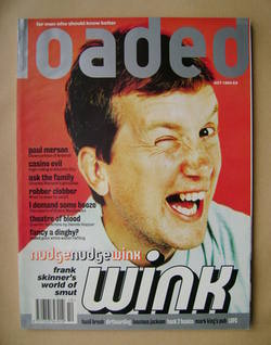 <!--1994-10-->Loaded magazine - Frank Skinner cover (October 1994)