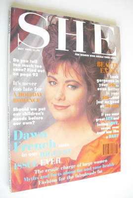 <!--1994-05-->She magazine (May 1994 - Dawn French cover)