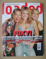 <!--2000-07-->Loaded magazine - Cat Deeley, Billie Piper, Natalie Appleton cover (July 2000)