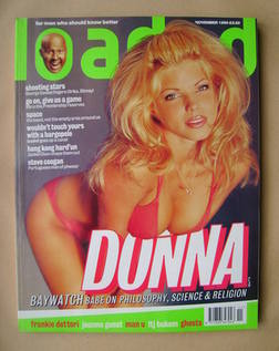 <!--1996-11-->Loaded magazine - Donna D'Errico cover (November 1996)